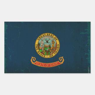 Idaho State Flag VINTAGE.png Rectangular Sticker