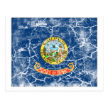 Idaho State Flag Vintage Post Card