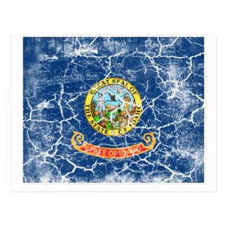 Idaho State Flag Vintage Postcard