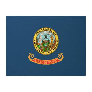 Idaho State Flag Wood Wall Art