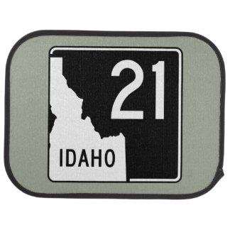 Idaho State Highway 21 Car Mat