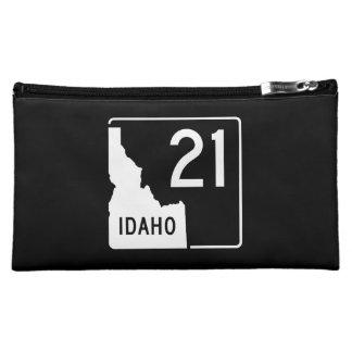 Idaho State Highway 21 Cosmetic Bag