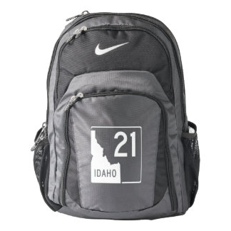Idaho State Highway 21 Nike Backpack
