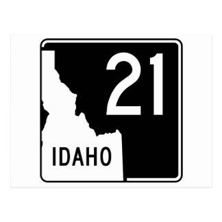 Idaho State Highway 21 Postcard