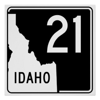 Idaho State Highway 21 Poster