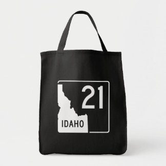 Idaho State Highway 21 Tote Bag