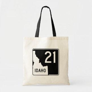 Idaho State Highway 21 Tote Bag