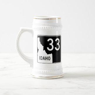 Idaho State Highway 33 Beer Stein