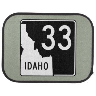 Idaho State Highway 33 Car Mat