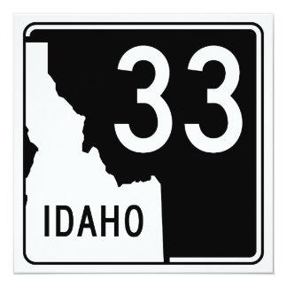 Idaho State Highway 33 Card
