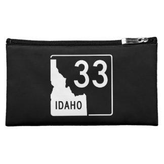 Idaho State Highway 33 Makeup Bag