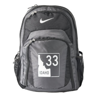 Idaho State Highway 33 Nike Backpack