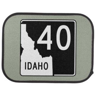 Idaho State Highway 40 Car Mat