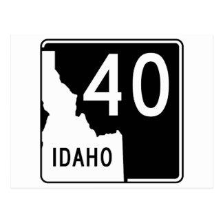 Idaho State Highway 40 Postcard