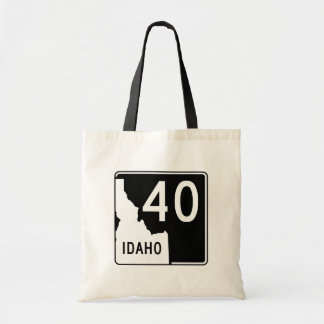 Idaho State Highway 40 Tote Bag