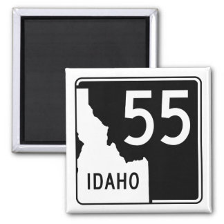 Idaho State Highway 55 2 Inch Square Magnet