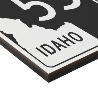 Idaho State Highway 55 Panel Wall Art