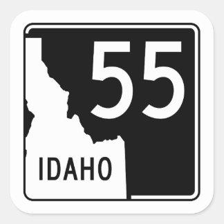 Idaho State Highway 55 Square Sticker