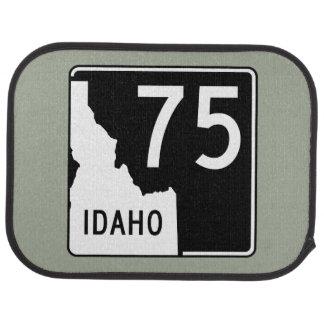 Idaho State Highway 75 Car Mat