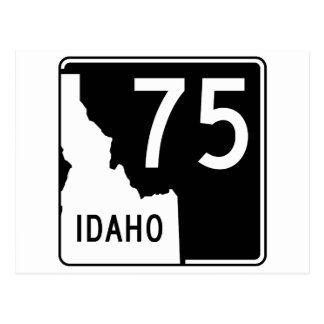 Idaho State Highway 75 Postcard