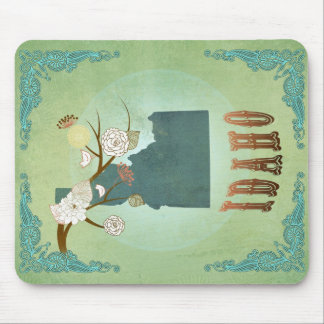 Idaho State Map – Green Mouse Pad
