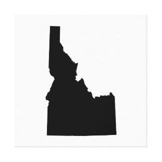 Idaho State Outline Canvas Print