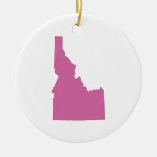 Idaho State Outline Ceramic Ornament