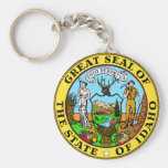 Idaho State Seal Keychain