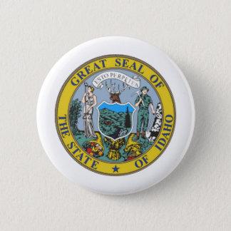 Idaho State Seal Pinback Button