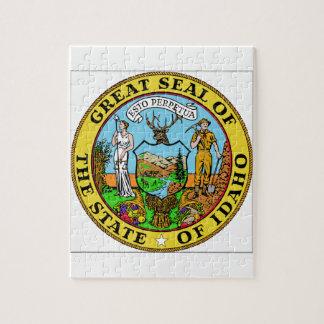 Idaho State Seal Puzzles