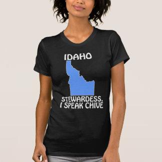 Idaho - Stewardess, I Speak Chive T-Shirt