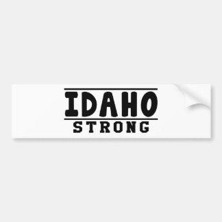 Idaho Strong Designs Car Bumper Sticker