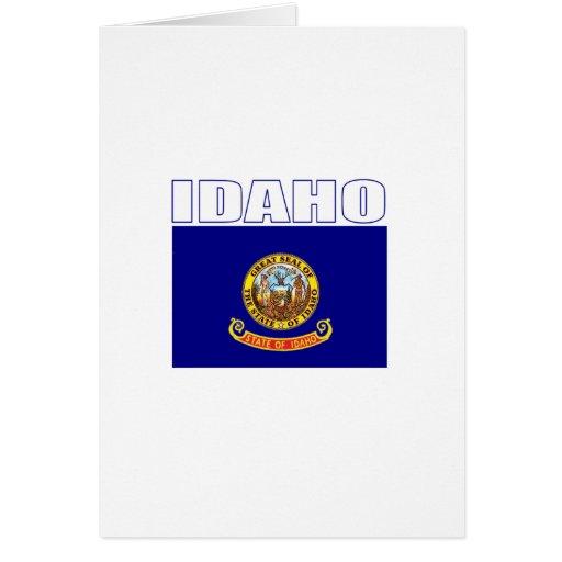 Idaho Tarjeta De Felicitación