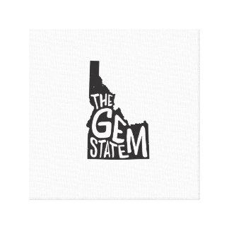 Idaho: The Gem State Canvas Print