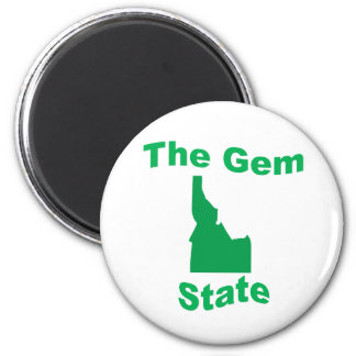 Idaho: The Gem State Fridge Magnet