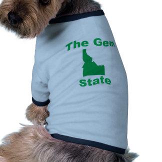 Idaho: The Gem State Pet Tshirt