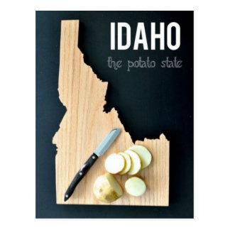 Idaho - The Potato State Postcard