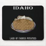 """Idaho """"tierra de patatas famosas""""."""
