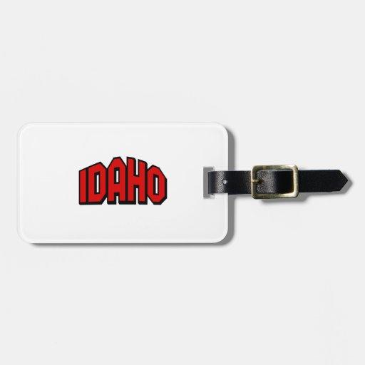 Idaho Travel Bag Tag