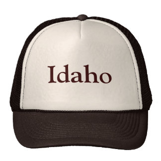 Idaho Trucker Hat
