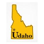 Idaho Udaho Letterhead Design