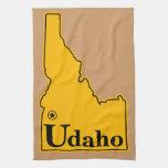 Idaho Udaho Towels