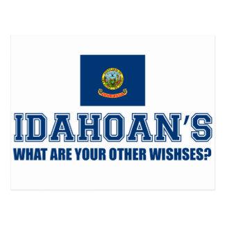 Idaho Usa Designs Postcard