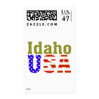 Idaho USA! Postage