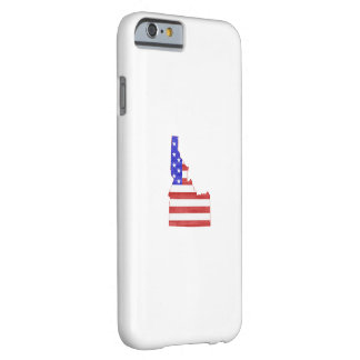 Idaho USA silhouette state map Barely There iPhone 6 Case