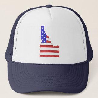 Idaho USA silhouette state map Trucker Hat