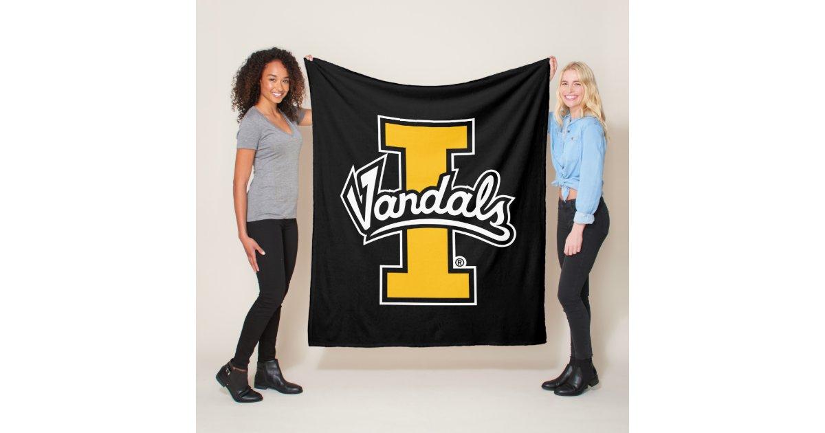 Idaho Vandals Logo Fleece Blanket Zazzle Com