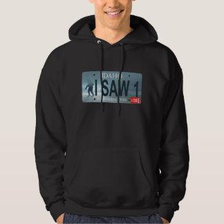 """Idaho """"vi 1"""" placa de Sasquatch Sudadera"""