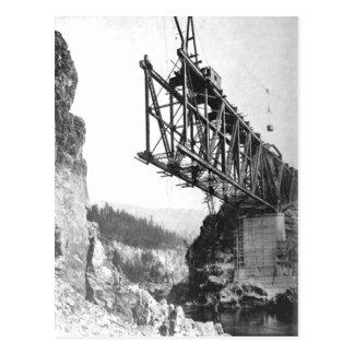 Idaho Washington Northern Railroad Bridge Postcard