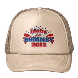 Idaho with Romney 2012 Hat